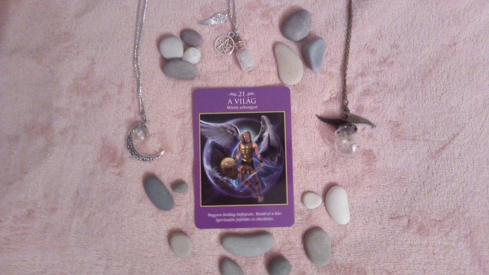 angyali segítség angyal kártya jóslás 2018-01-10
